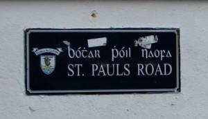 Stan Carey - St. Paul's Road apostrophe