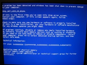 Stan Carey - Blue Screen of Death BSOD