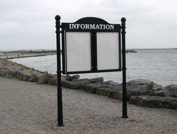 Stan Carey - information sign