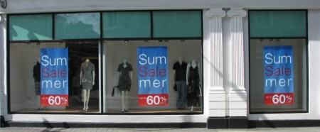 Stan Carey - summer sale sign