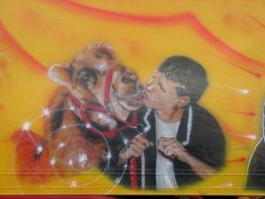 Stan Carey - kissing circus camel