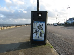 Stan Carey - Salthill dog drawing 1