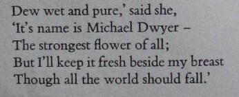 Daniel O'Keeffe First Book of Irish ballads its it's