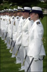 United States Coast Guard Academy graduation