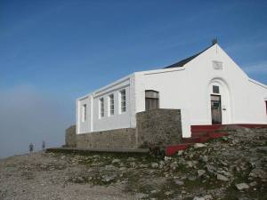 stan carey - croagh patrick mountain climb 9 - chapel at summit