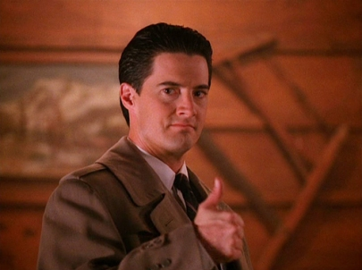 Special Agent Dale Cooper - thumbs up - Twin Peaks