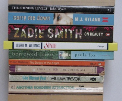 stan carey - book spine poetry - bookmash - the shining levels