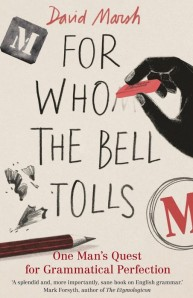 David Marsh - Guardian - For Who the Bell Tolls - book cover