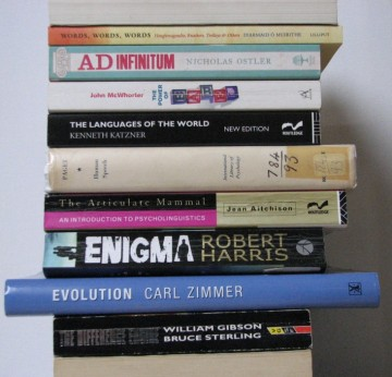 stan carey - book spine poem - bookmash - evolution the difference engine