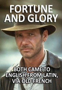 @JoeScience - Indo-European Jones meme - fortune and glory