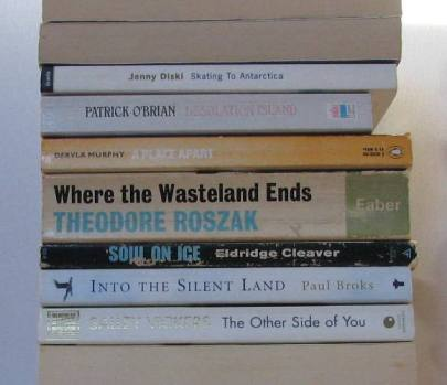 stan carey - book spine poem - antarctica