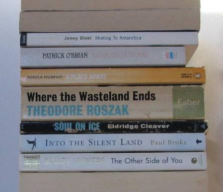 stan carey - book spine poem - antarctica