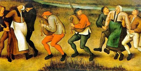 Pieter Brueghel the Younger - Dance at Molenbeek