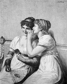 Ein süßes Geheimnis (A sweet secret) by Adolf Hering, 1892