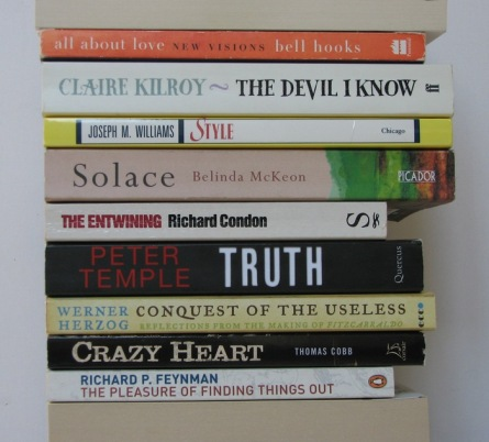 stan carey - book spine poem bookmash - useless crazy heart