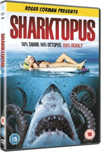 roger corman presents sharktopus - 50% shark 50% octopus dvd cover