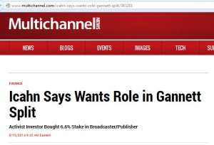 multichannel news - says wants role