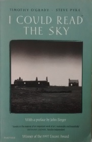 timothy o'grady and steve pyke - i could read the sky - john berger - book cover