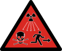 2007 radioactivity danger logo