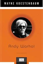 Wayne Koestenbaum - Andy Warhol - Penguin Lives biography book cover