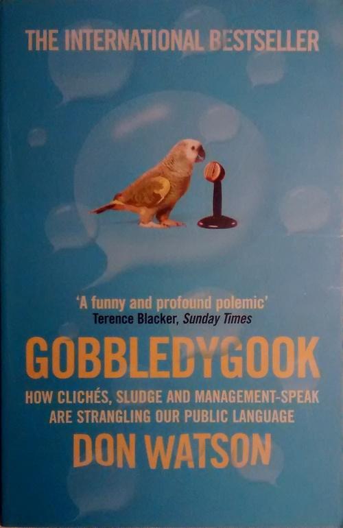 gobbledygook | Sentence first