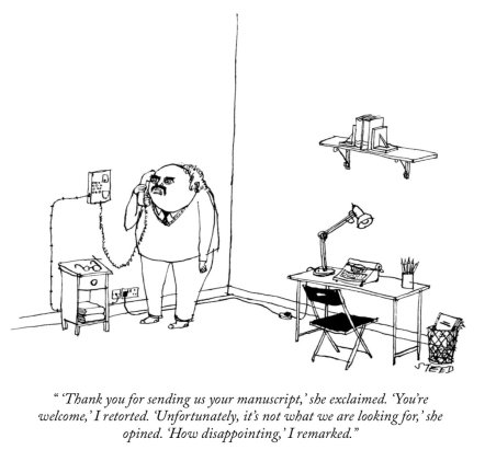 Cartoon by Edward Steed for the New Yorker