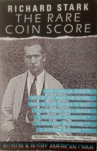 richard stark - the rare coin score - Parker - book cover