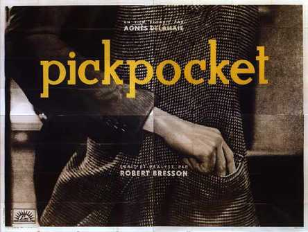 Robert Bresson - Pickpocket (1959) film poster