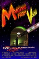 martians from venus film poster