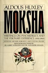 aldous huxley - moksha book cover