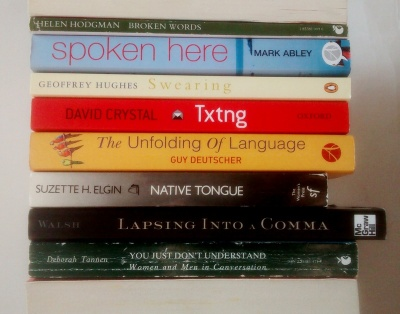 stan carey - book spine poem - broken words spoken here