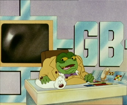 Danger Mouse cartoon 3 - Baron Greenback and Nero