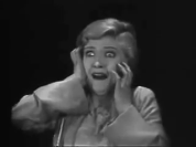 the cat and the canary 1927 - horrified woman