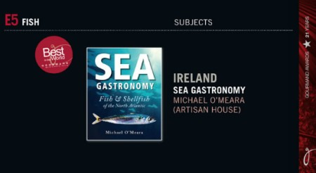 Gourmand World Cookbook Awards 2016 - Sea Gastronomy finalists