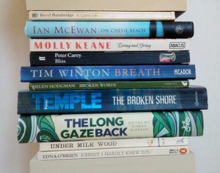 stan carey book spine poem a quiet life