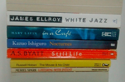 stan carey book spine poem mice