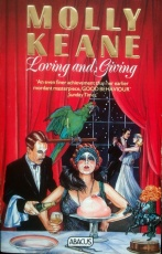 Book cover of 'Loving and Giving' by Molly Keane, publisher Abacus