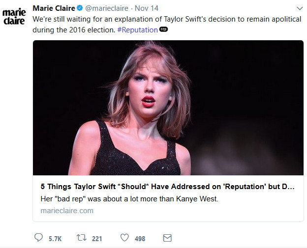 Getting ratioed for your bad take | Sentence first